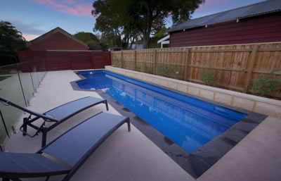 lap pool range